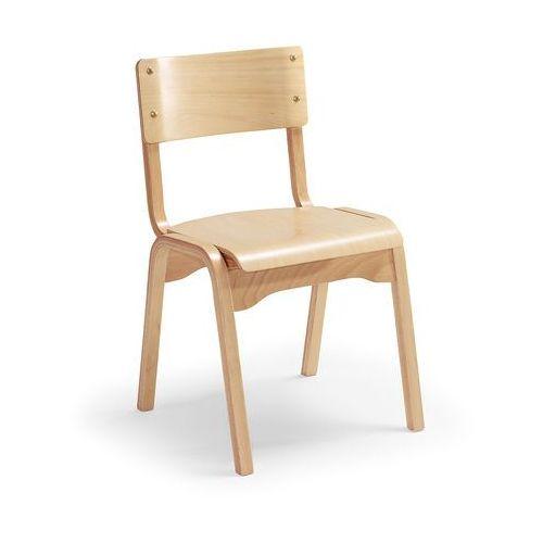 Krzesło drewniane Charlotte, fornir bukowy, 10288