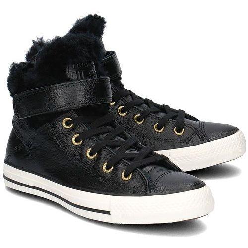 - converse brea leather - trampki damskie - 553394c wyprodukowany przez Converse