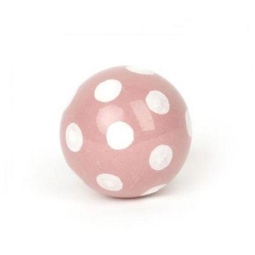 Gałka do mebli muchomor różowy marki Regałka