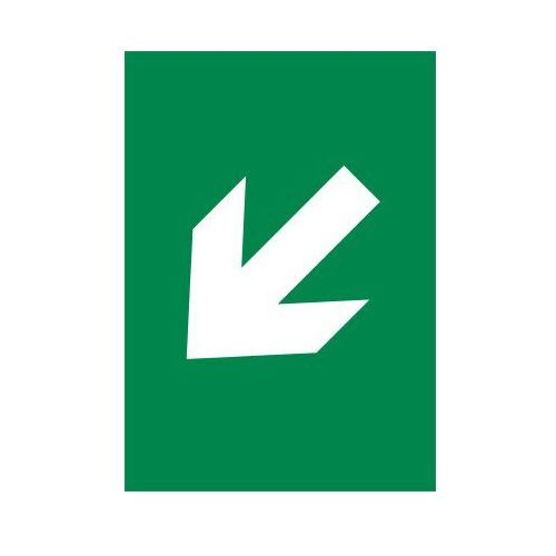 Strzałka ukośna - lewa (biały/zielony) - sprawdź w wybranym sklepie
