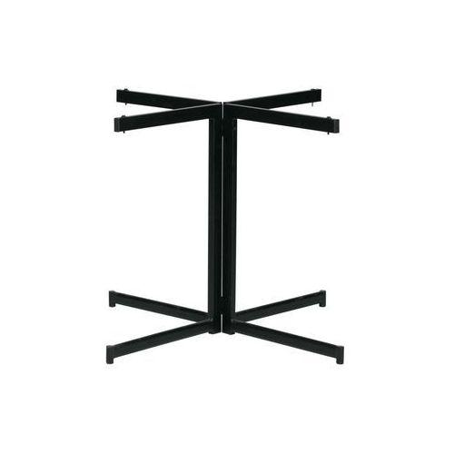 Woood Podstawa do okrągłego stołu Panel metalowa czarna 375003-Z, 375003-Z