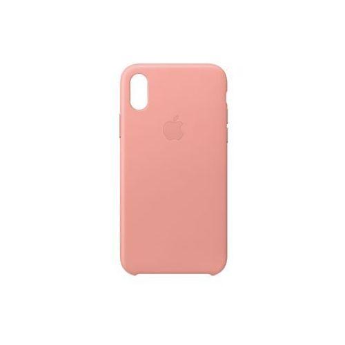 APPLE iPhone X Leather Case - Soft Pink MRGH2ZM/A >> BOGATA OFERTA - SUPER PROMOCJE - DARMOWY TRANSPORT OD 99 ZŁ SPRAWDŹ!, MRGH2ZM/A