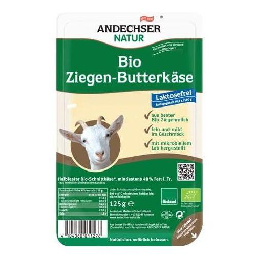Ser kozi w plastrach 48% BIO 125 g Andechser Natur