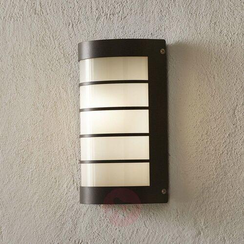 Cmd Kinkiet zewnętrzny aqua marco z rastrem, antracyt