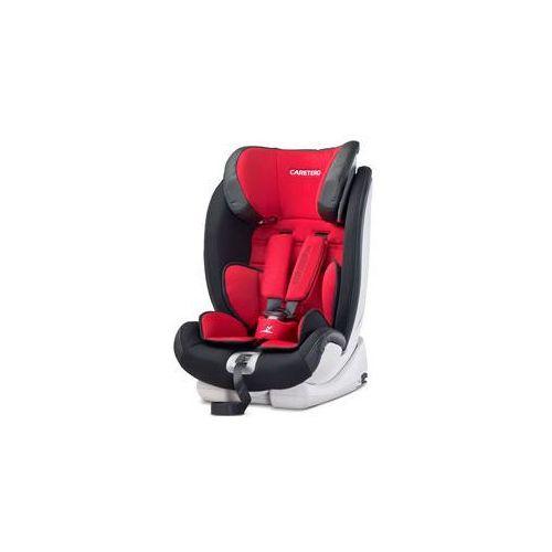 Caretero Fotelik samochodowy volantefix isofix 9-36kg (czerwony)