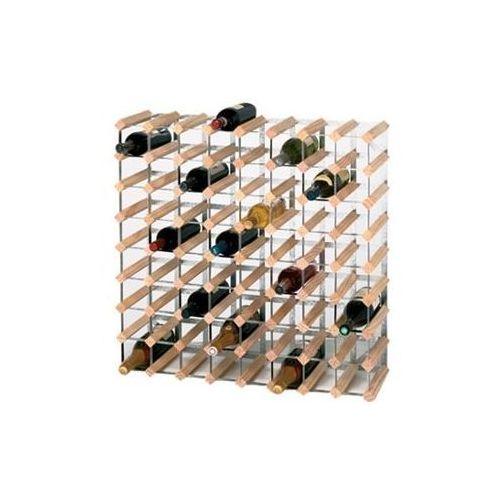 Drewniany stojak na wino | 72 butelki | 810x230x(h)230mm marki Xxlselect