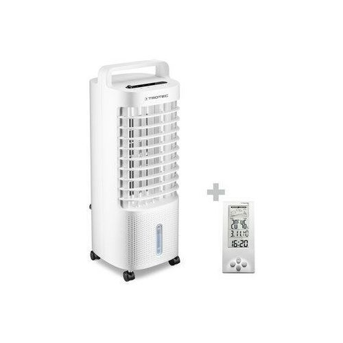 Trotec Aircooler, klimatyzer, wentylator, nawilżacz powietrza pae 11 + stacja pogodowa bz06 (4052138094310)