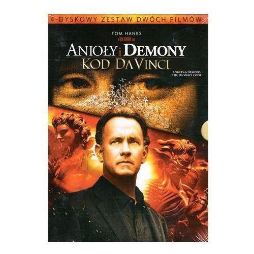 Pakiet: anioły i demony / kod da vinci (dvd) - ron howard darmowa dostawa kiosk ruchu marki Imperial cinepix