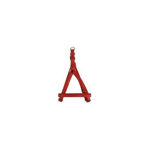 Zolux szelki regulowane mac leather 25 mm czerwone- rób zakupy i zbieraj punkty payback - darmowa wysyłka od 99 zł (3484152206522)