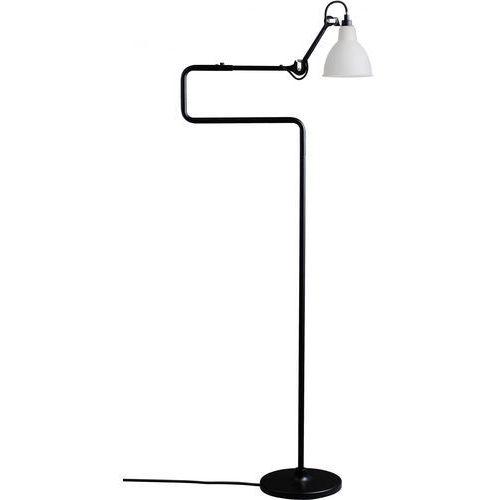 Lampe gras n°411 - lampa podłogowa - czarny/szkło