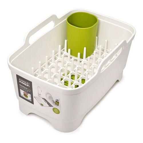 Zestaw kuchenny 3 elementy wash&drain biało-zielony marki Joseph joseph