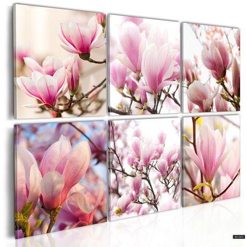 SELSEY Obraz - Magnolie na południu 120x80 cm