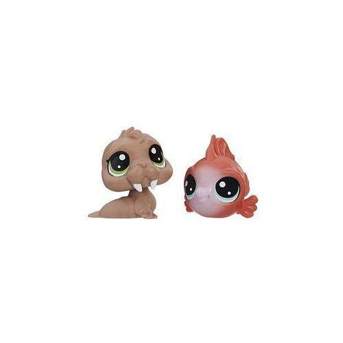 Littlest pet shop Dwupak figurek hasbro (aquatic)