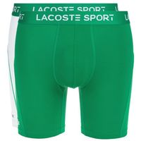 2-pack bokserki zielony biały s, Lacoste
