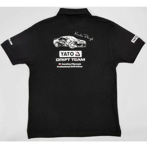 Yato Koszulka polo rajdowa czarna rozmiar m ar-377 - zyskaj rabat 30 zł