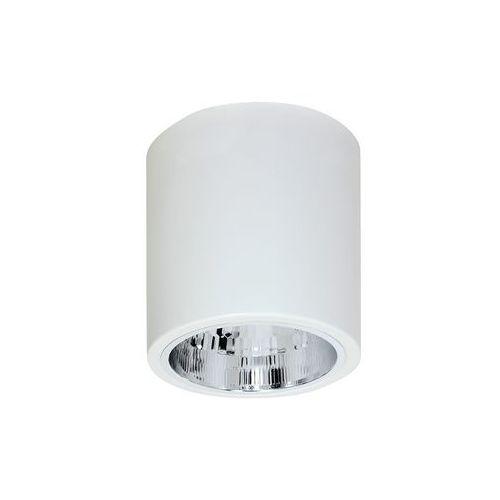 Plafon lampa sufitowa downlight round 1x60w e27 biały 7240 >>> rabatujemy do 20% każde zamówienie!!! marki Luminex