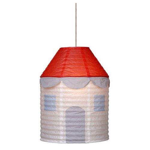 Lampa wisząca house czerwona/pomarańczowa marki Lucide