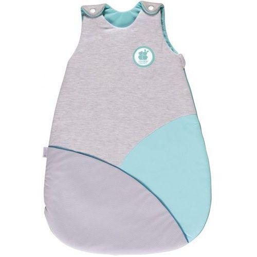 Candide Śpiworek do spania Air+ Cosy 68 cm, turkusowy, kolor niebieski