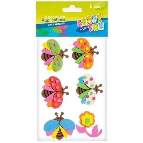 Ozdoba dekoracyjna samoprzylepna pianka owady marki Craft with fun