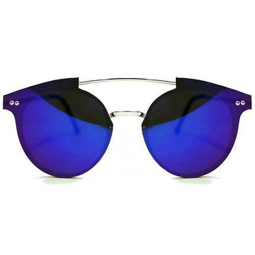 Okulary Słoneczne Spitfire Trip Hop Silver/Dark Blue Mirror
