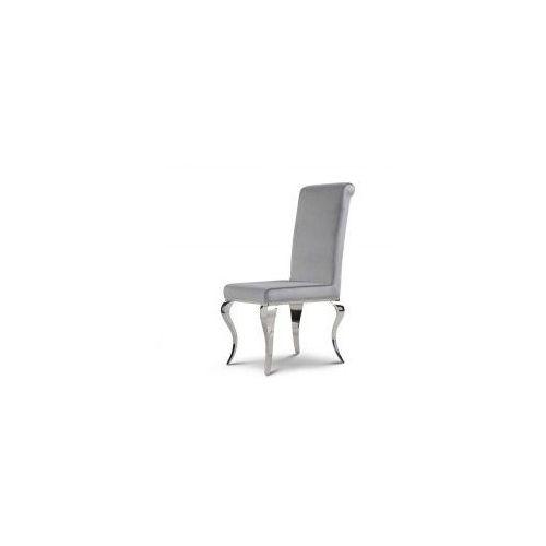 Bellacasa Krzesło glamour premier silver - nowoczesne krzesło tapicerowane (5908273392813)