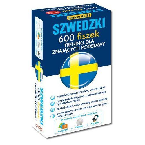 FISZKI Szwedzki 600 Fiszek. Trening dla Znających Podstawy + CD, EDGARD