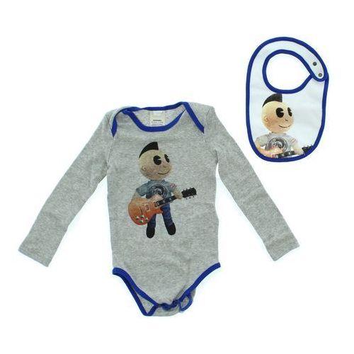 zestaw dziecięcy dla niemowląt niebieski szary 24 miesięcy marki Diesel