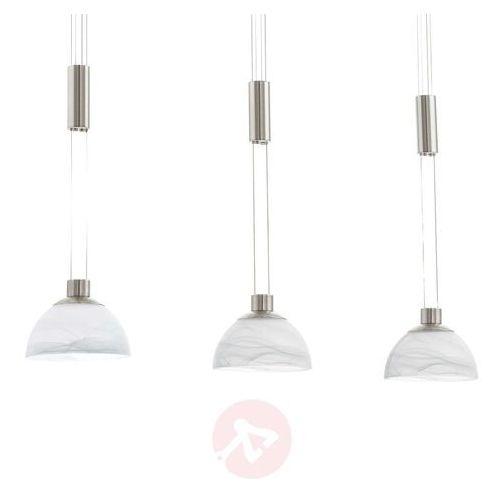 Eglo 93468 - LED lampa wisząca MONTEFIO 3xLED/6W/230V