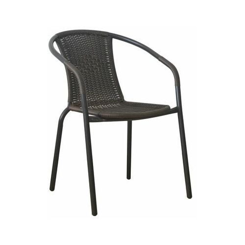 Telehit garden Krzesło balkonowe bistro technorattanowe brązowe (5901721054417)