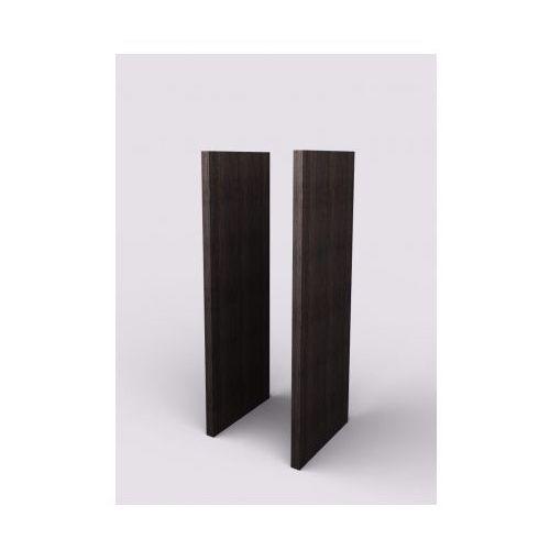 Boczna płyta wykończeniowa, para, 427 x 38 x 1170 mm, wenge marki Lenza