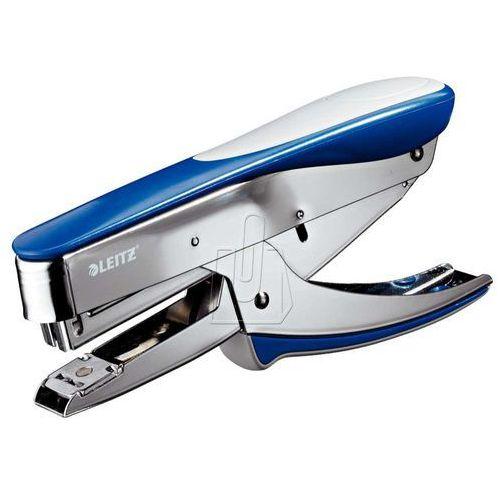 Zszywacz konduktorski 24/6 niebieski metalik, nożycowy do 30k.55480033 marki Esselte