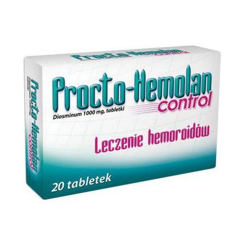 Tabletki PROCTO-HEMOLAN Control 1000mg x 20 tabletek