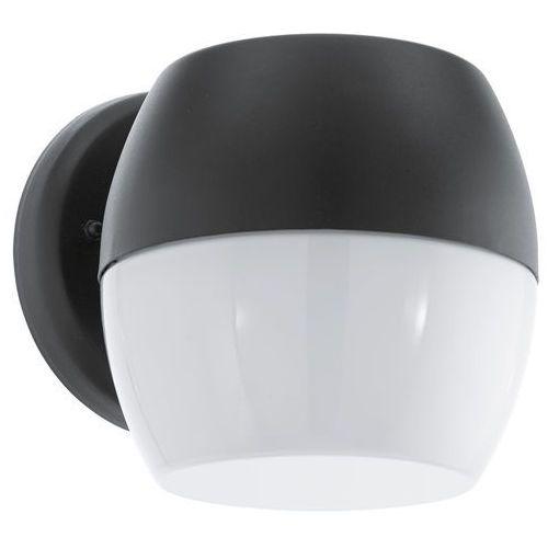 Kinkiet oncala 95981 lampa ścienna 1x11w led czarny marki Eglo