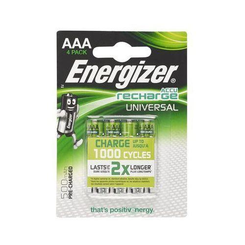 Akumulatory ENERGIZER Universal AAA 500mAh 4szt. (7638900424256)