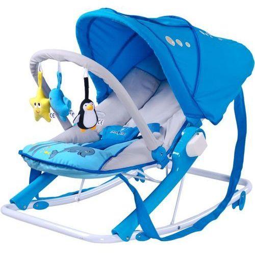 Leżaczek CARETERO Aqua niebieski + DARMOWY TRANSPORT!, TERO-8054