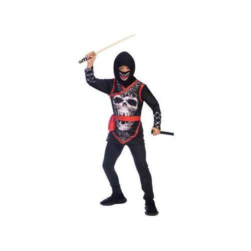 Kostium dziecięcy czerwony ninja - 8/10 lat (134) marki Amscan