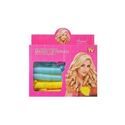Import Wałki do włosów papiloty spirale magic leverag tv 19 elem.