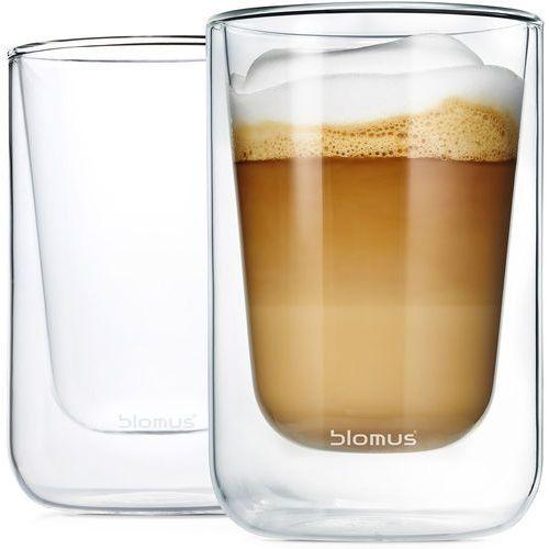 Blomus Szklanki do cappuccino 250ml nero 2 sztuki