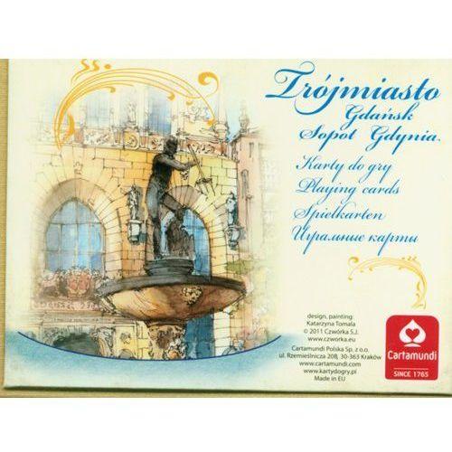 Trójmiasto akwarele talia 2x55 listków marki Cartamundi