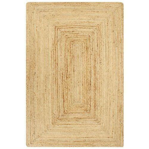 VidaXL Ręcznie wykonany dywan, juta, naturalny, 120x180 cm (8718475733683)