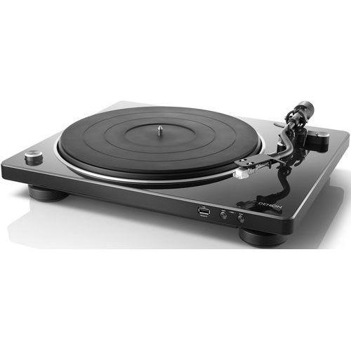 Denon dp-450usb czarny - automatyczny gramofon analogowy | usb | raty 0% | gwarancja 3-lata (4951035065549)