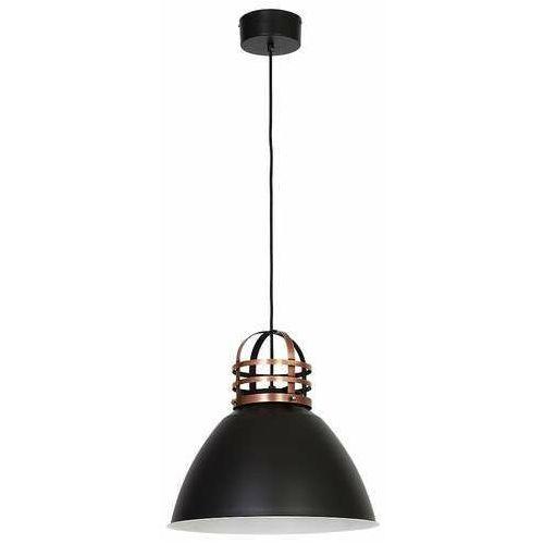 Lampa wisząca works 1 9288 lampa sufitowa 1x60w e27 czarna / antyczna miedź marki Luminex