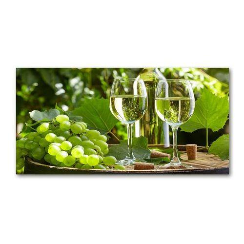 Foto obraz akryl białe wino i owoce marki Wallmuralia.pl
