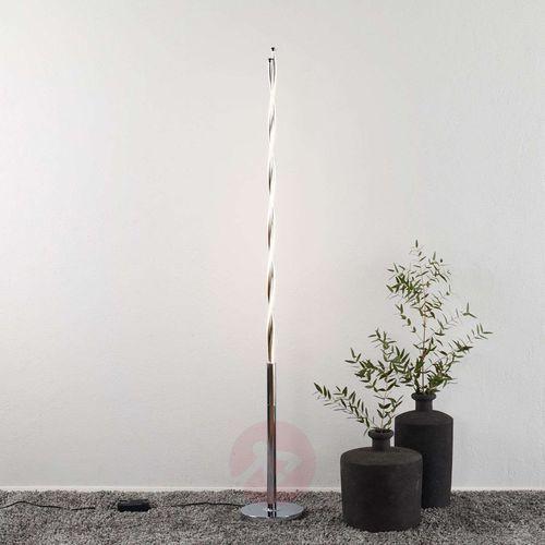 portofino lampa stojąca led chrom, 2-punktowe - nowoczesny - obszar wewnętrzny - portofino - czas dostawy: od 2-4 dni roboczych marki Trio