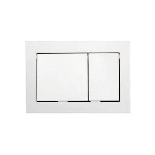 Przycisk spłukujący do stelaża base biały marki Tece