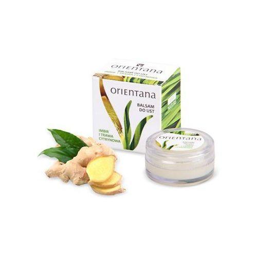 Balsam do ust - olejki z imbiru i trawy cytrynowej marki Orientana