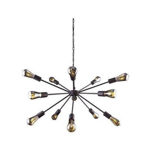 ROD XV zwis - żyrandol/lampa wisząca, kolor czarny