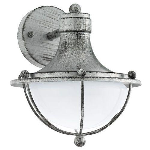 Eglo Kinkiet monasterio 95978 lampa ścienna 1x60w e27 srebrny (9002759959784)