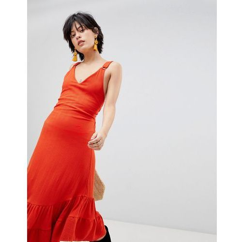 into you maxi dress - red marki Free people