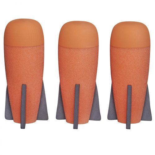 Nerf zestaw mega 3 rakiet piankowych